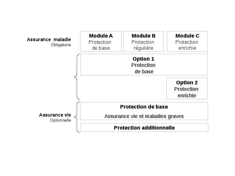 Organisation générale de la police modulaire proposée