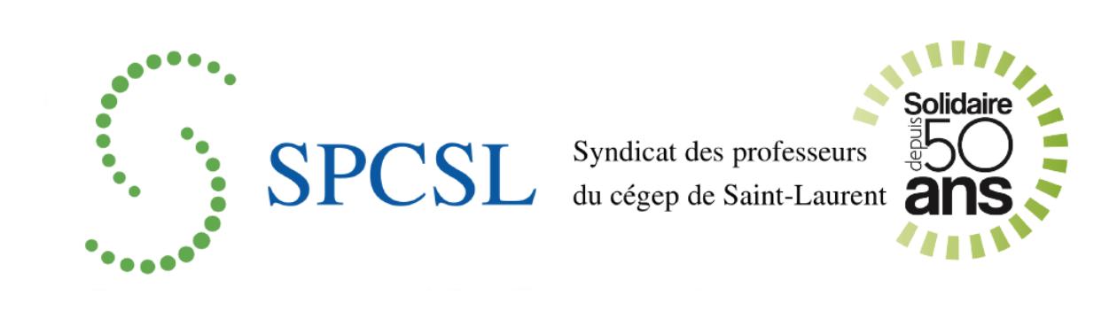 Syndicat des professeurs du cégep de Saint-Laurent